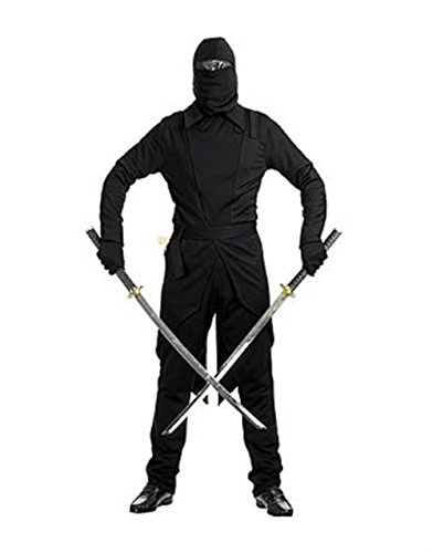 Storm Shadow Adult Costumes (GI Ninja Adult Costume Black - X-Small)