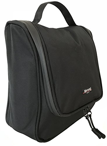 WAYFARER SUPPLY Toiletry Bag. Pack-it-flat Hanging Travel Kit, - Style Is Wayfarer What