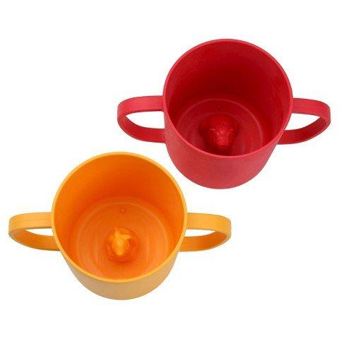 JJ Rabbit 2 Piece CUPPIES Hot Set, Red/Orange