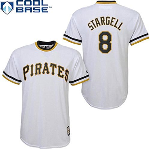 new concept d09b7 ca230 Willie Stargell #8 Pittsburgh Pirates MLB Youth Cool Base ...
