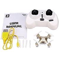 Eshion Cheerson Mini Drone CX-10A 4CH 2.4GHz 6-Axis Gyro LED Headless Mode RC Quadcopter