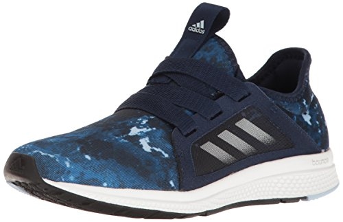 adidas Performance mujer borde Lux W Running Shoe Collegiate Navy/Light Blue/Easy Blue