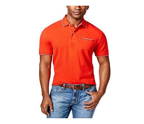 Tommy Hilfiger Mens Anthony Contrast-Trim Rugby Polo Shirt 611 XL - Tommy Hilfiger Polo Rugby