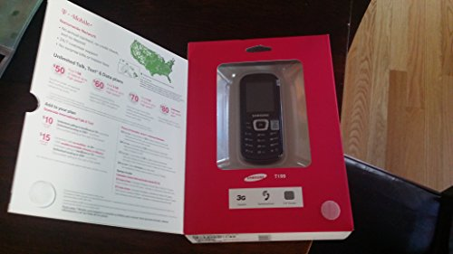 Samsung Dual Band Cell Phone (Samsung SGH-T199 W/ No sim Starter Kit)