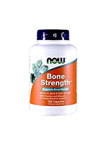 Now Foods Bone Strength - 120 Capsules