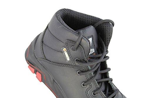 jallatte jalbadger X2S3HRO CI SRC Zapatos de trabajo Diseño Botas de Negro Negro - negro