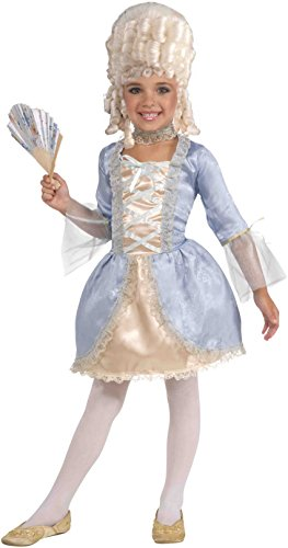 Forum Novelties Deluxe Designer Collection Marie Antoinette Costume, Child Small (Marie Antoinette Halloween Costume)
