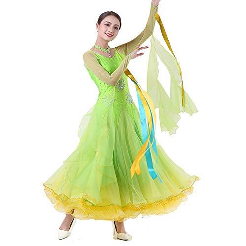 最も完璧な garuda レディース社交ダンス衣装 garuda ダンス高級競技ワンピース B07Q3FQCQR 上品ワルツドレス サイズオーダー モダン蛍光緑 B07Q3FQCQR 蛍光緑,サイズオーダー, サワグン:e9164a0d --- a0267596.xsph.ru