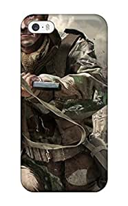 Ultra Slim Fit Hard Aaron Nelson Case Cover Specially Made For Iphone 5/5s- Call Of Duty 3