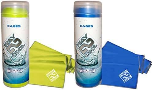 Way 2 Cool Microfiber Cooling Towel