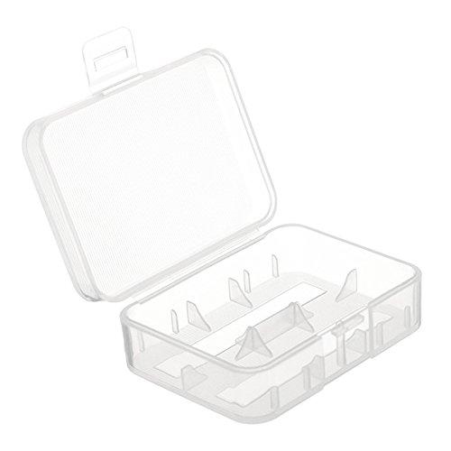 Lights & Lighting - Keeppower D2 Dual-e Battery Plastic Case For 18500/18350 - Battery Plastic Case Holder Ryobi Power Tool 18650 Cases - 1PCs