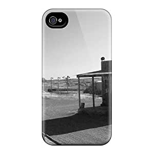 6Plus Perfect Tpu Case For Iphone 4/4s/ Anti-scratch Protector Case (flying W)
