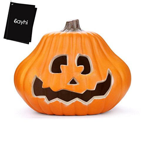 USSay ETohio Halloween Inflatable Pumpkin Family With Flashing Lights 14 inches, 5-7 Days You Can Receive the Goods