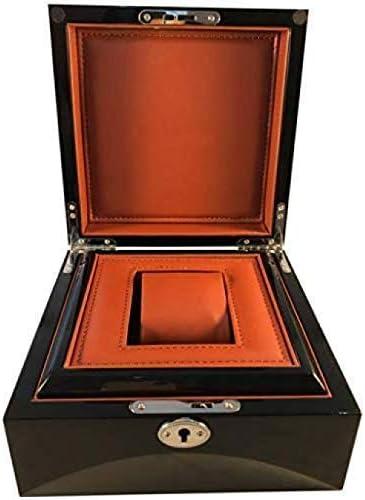 DGHJK Scatola portaoggetti per Orologi in Legno Staccabile Mat Display Cabinet Organizer Mens Custodia per Gioielli Scatola raffinata