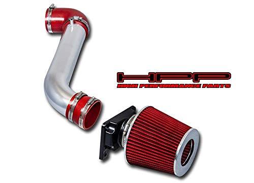 High Performance Parts Short Ram Air Intake Kit & Red Filter Combo Compatible for 00-05 Mitsubishi Eclipse / 99-03 Galant / 01-05 Dodge Stratus 2.4L 3.0L V6 / 01-05 Chrysler Sebring 3.0 V6