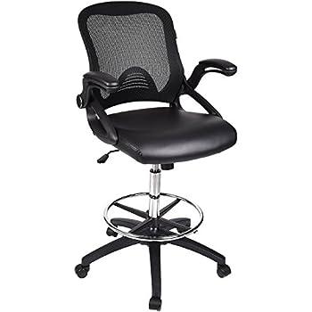 Amazon Com Harwick Extra Tall Ergonomic Drafting Chair