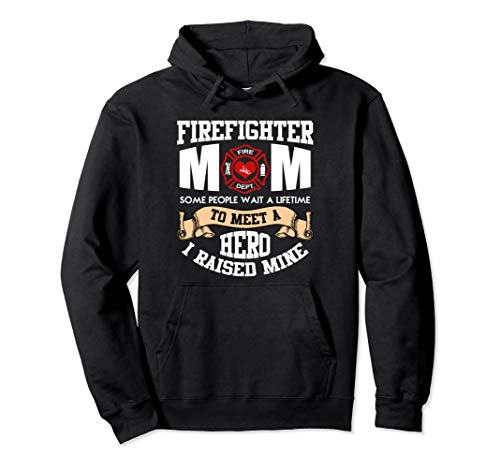 Proud Firefighter Mom Mothers Day Hoodie Women Gift
