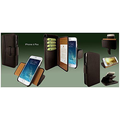 PIELFRAMA 687M Wallet Case Apple iPhone 6 Plus in braun