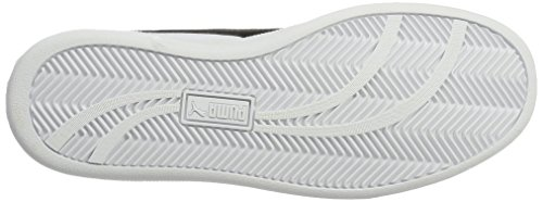 Unisex white Adulto Puma white Smash black L Zapatillas Blanco qfW6AFtw