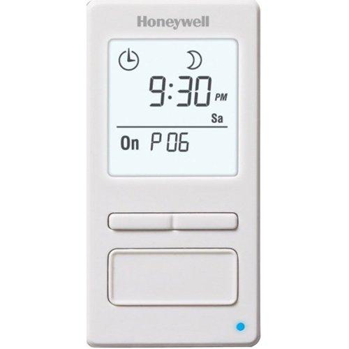Honeywell 7-Day Solar Programmable Timer for Lights & Motors (White)