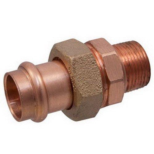 "Nibco Press System PC633-4 Wrot Copper Union, 3/4"""