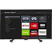 "Sharp LC-50LB481U 50"" 1080p Smart LED Roku HDTV"