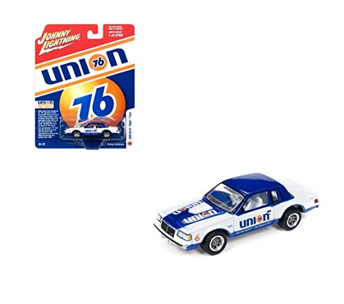 New DIECAST Toys CAR JOHNNY LIGHTNING 1:64 Hobby Exclusive - 1986 Regal T-Type - Union 76 JLSP012-24