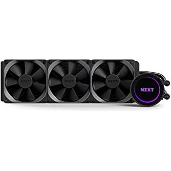 Amazon Com Nzxt Kraken Pc Fan Cooler Parent Black Black