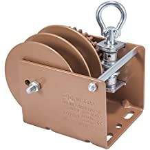 Dutton-Lainson Company WG1500RLD 1500 lbs Worm Gear Winch with Loop Drive and Split Reel