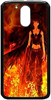 Amazon.com: Touhou Nightcore - Fire Anime pattern cases ...