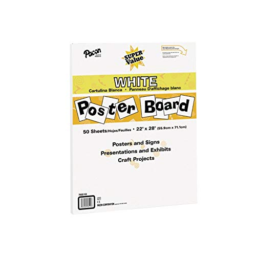 Board Paper Poster (Pacon Super Value Poster Board, 22