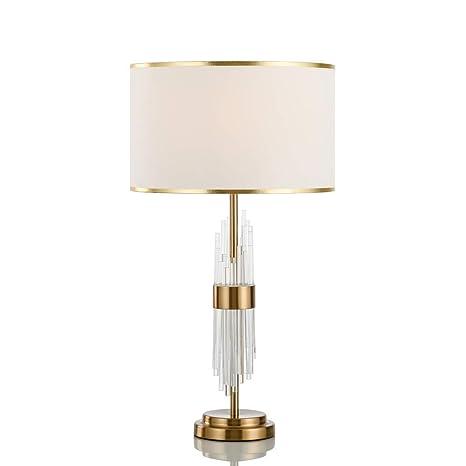 YZPTD Lámpara de mesa de lujo con luz europea y moderna sala ...