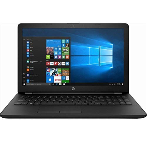 HP 15.6' HD LED Backlight Premium Laptop | AMD A6-9225 2.6GHz | 4GB DDR4 RAM | 1TB HDD | DVD-RW | Gigabit Ethernet | HDMI | SD Card Reader | Windows 10 | Jet Black