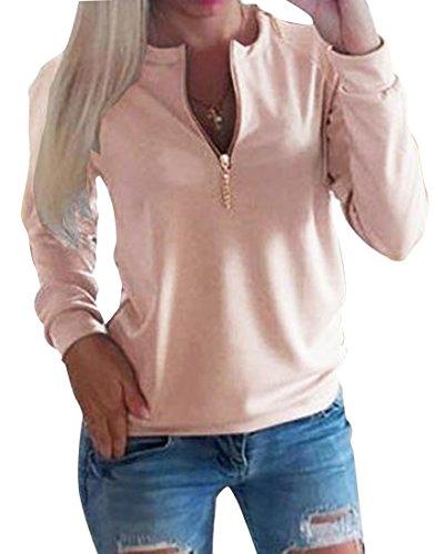 Slim Zip Sweatshirt - 8