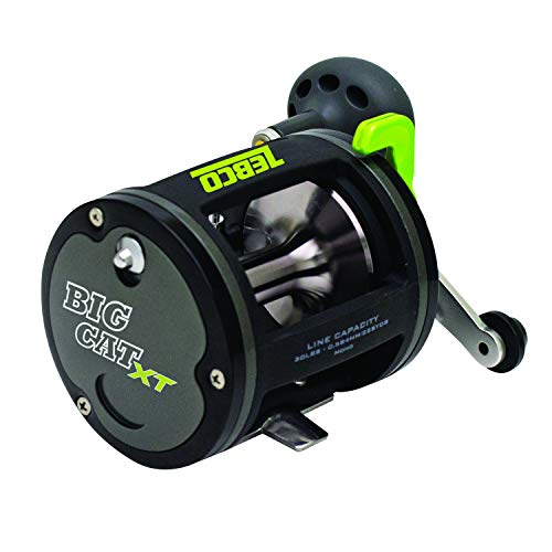 Quantum Fishing Zebco BCXT30C, BX3 Zebco Big Cat XT Baitcast Reel, 4.2: 1, 2 Bearing, Right Hand