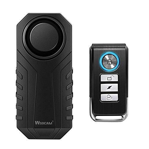Alarma  inalámbrica p/bicicleta con sensor y control