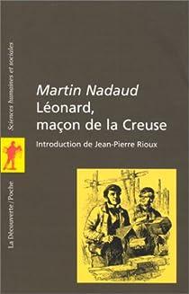 Book's Cover ofLéonard maçon de la Creuse