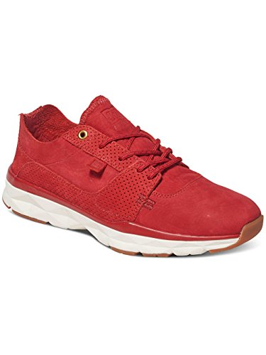 Herren Red Sneaker Rouge DC Player Zero Sneakers White Red 4TwqdxA