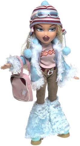 """Bratz 10/"""" Doll Clothes Cloe Wintertime Wonderland Red Sparkly Scarf"""