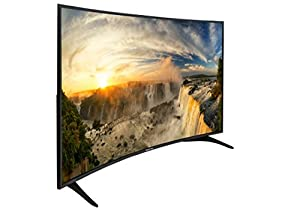 Sceptre 65-Inch Curved UHD Ultra Thin LED 4K TV 3840x2160 4x HDMI Port, Just Black 2018