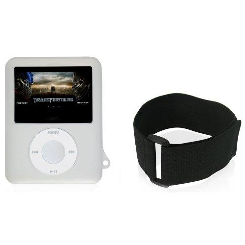 CTA Digital Skin Case for iPod nano 3G (Clear) (Armband 3rd 3g Generation Nano)