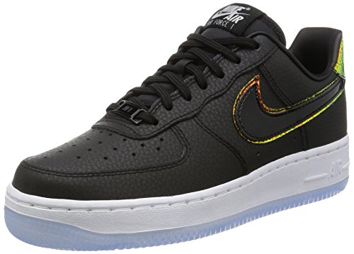 Nike Kvinnor Air Force 1 07 Prm Basket Sko Svart / Svart / Ren Platina
