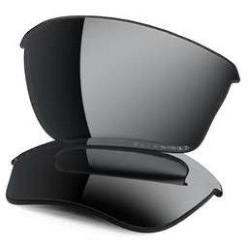 Oakley Half Jacket 2.0 XL Replacement Lenses, Black Polarized Iridium ()