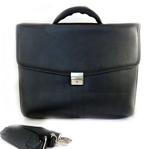 Price comparison product image Computer briefcase black lafayette 15.6 (3 folds).