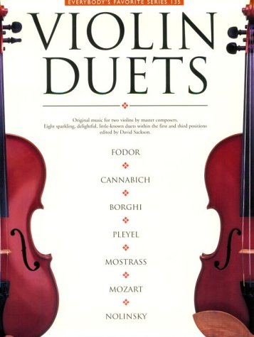 Violin Duets: Everybody's Favorite Series Volume -