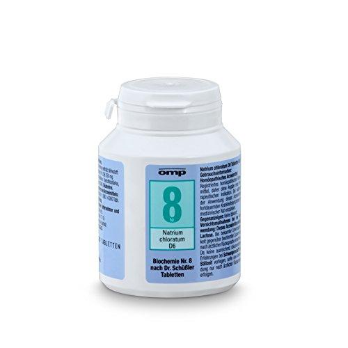 Schuessler Salz Nr. 8 Natrium chloratum D6 - 400 Tabletten, glutenfrei