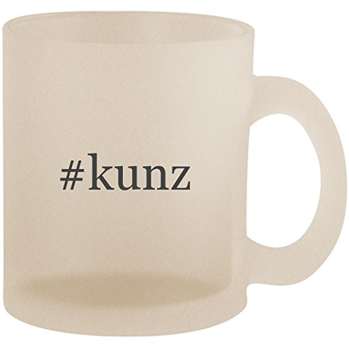 #kunz - Hashtag Frosted 10oz Glass Coffee Cup (Richard Ivy Water)