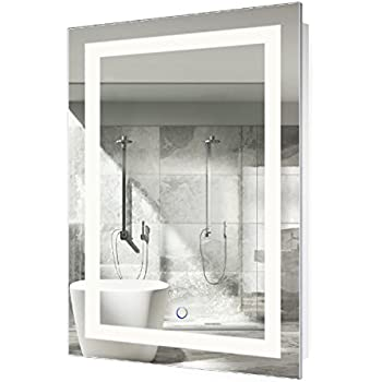 LED Bathroom Mirror 24 Inch X 36