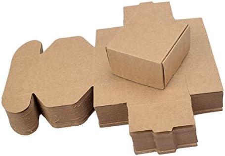 Xianheng 50PCS Cajas para Regalos de Papel de Embalar Bolsas para Regalos de Jabones Adornos o Aceite Esencial M: Amazon.es: Hogar