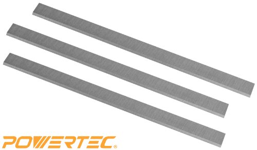 POWERTEC HSS Planer Blades for Delta, Jet, Grizzly, Powermatic, Woodtek, and Most 15